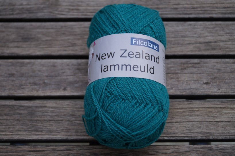 NZ Lammeuld Türkis dunkel