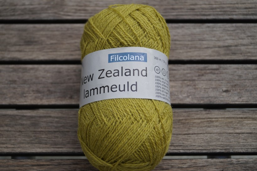 NZ Lammeuld Gelbgrün