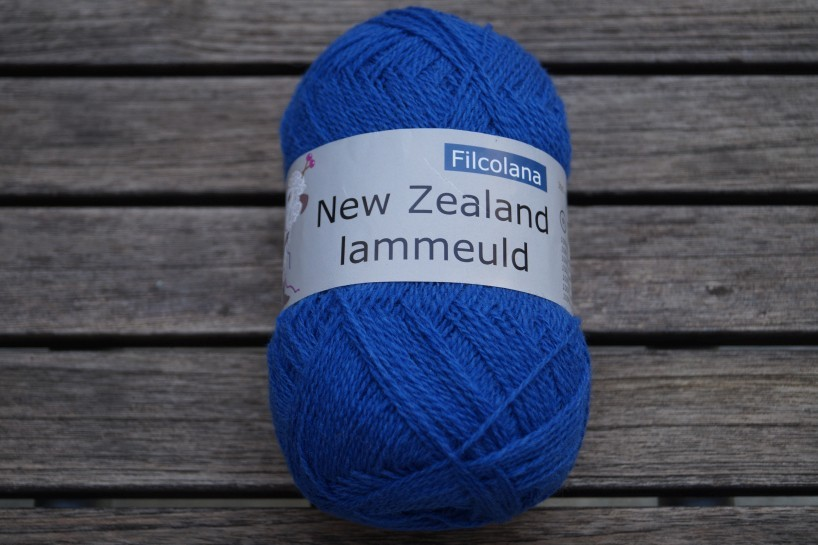 NZ Lammeuld Blitzblau