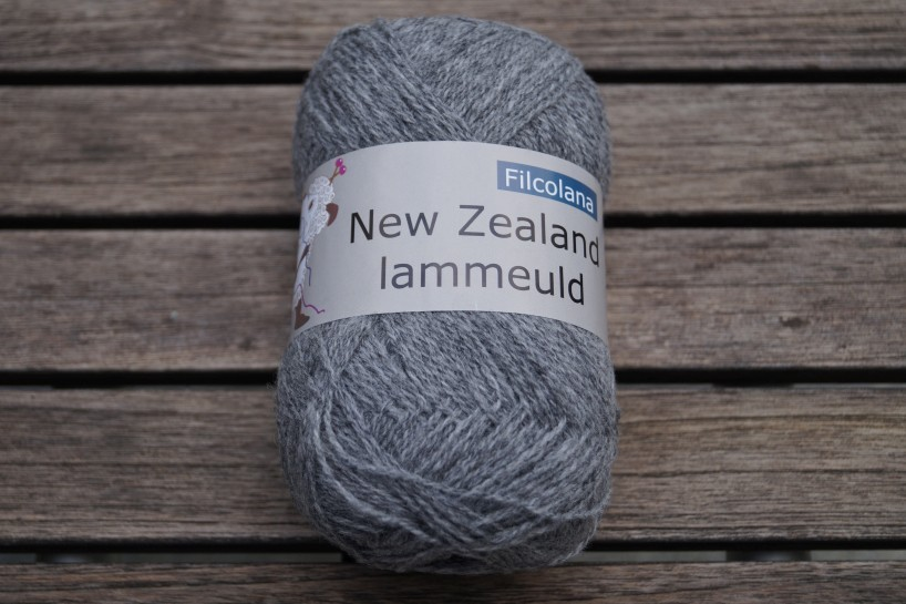 NZ Lammeuld Mittelgrau