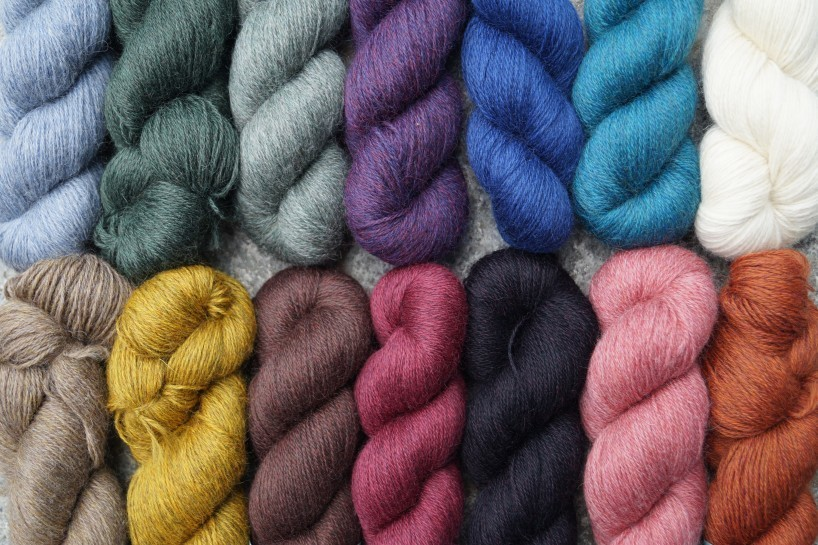 Devonia 4ply Farbspektrum