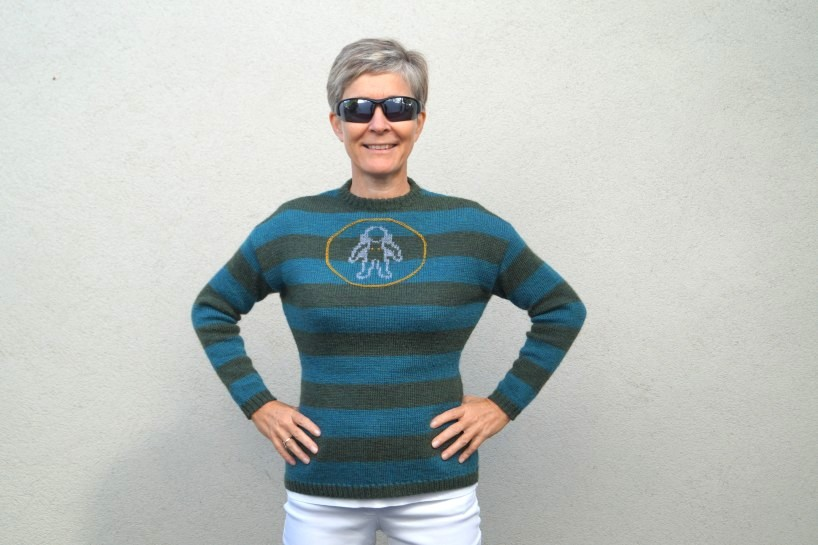 Garnpaket Woman on The Moon Sweater